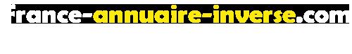 Annuaire inversé France